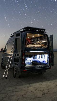 Of Life - Camper, Camping - Camper Diy, Custom Camper Vans, Custom Campers, Camper Caravan, Vintage Campers, Rv Campers, Camping Klo, Van Camping, Sprinter Van Conversion