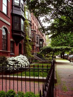 Boston Brownstones