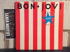 "Bon Jovi Livin On A Prayer Gatefold 12"" Collectors Ed. EP VERXG28 A1 Rock 80's Music:Records:12'' Singles:Rock:Soft"