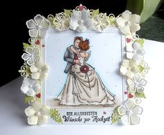 Hochzeitskarte - Bride and Groom