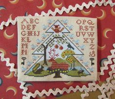 Blue Spruce by kathybarrick on Etsy, $9.00  Now available!!  Cross stitch pattern.