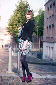 """Les low boots Tamy par Morgane du blog """"Le nuage du Cookie"""""""