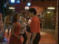 Chayanne y Vanessa Williams cantando salsa romantica    From the Movie... Dance With Me