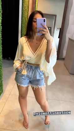 Cute Summer Outfits, Classy Outfits, Chic Outfits, Spring Outfits, Fashion Outfits, Love Fashion, Girl Fashion, Womens Fashion, Textiles Y Moda