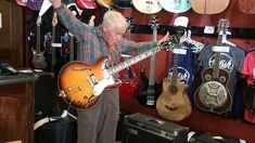 This is Bob Wood of Nashville, TN. He's been playing guitar forever, and he just turned 81.