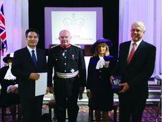 La Iglesia de Dios Sociedad Misionera Mundial recibió el premio de la Reina del Reino Unido.