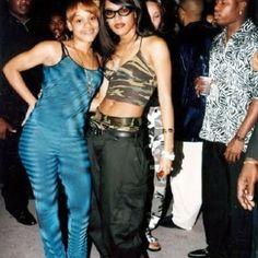 Left Eye & Aaliyah