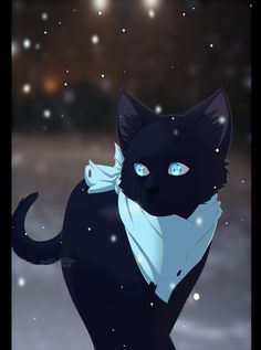 Yato as a cat. Fanart.