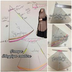 Dress Sewing Patterns, Clothing Patterns, Abaya Pattern, Bridal Hijab, Hijab Bride, Wedding Hijab, Wedding Dresses, Instant Hijab, Muslim Women Fashion