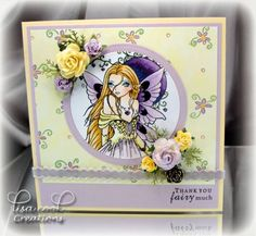 Spring Fairy by busysewin - Cards and Paper Crafts at Splitcoaststampers