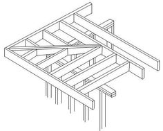 framing an overhang on a roof - Google Search