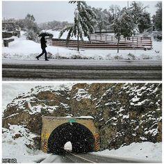 #شبكة_أجواء : صور لتساقط للثلوج في شمال #ايران