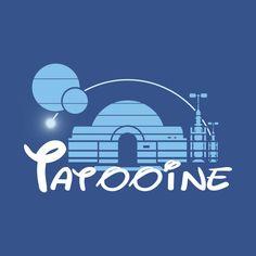 Shop Tatooine star wars t-shirts designed by Barbadifuoco as well as other star wars merchandise at TeePublic. Star Wars Stencil, Star Wars Art, Disney Diy Crafts, Star Wars Icons, Pixar Characters, Star Wars Merchandise, Disney Designs, Cartoon Crossovers, Star Wars Tshirt