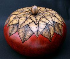 Gourd Art by Tia Flores