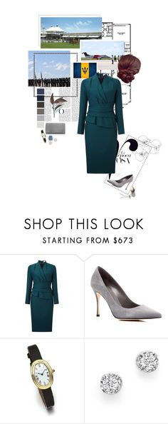 """""""Untitled #2355"""" by duchessq ❤ liked on Polyvore featuring Felix, Sergio Rossi and Bloomingdale's"""