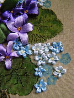 Gallery.ru / Фото #12 - Моя вышивка лентами 2 - Valehcia