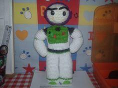Bozz Ligthyear, amigurumi, crochet, Chile, solo foto