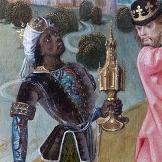 People of Color in European Art History Musée de Cluny: Nativité. Adoration des mages. Maître Arndt, Kalkar (Rhin inférieur), vers 1483