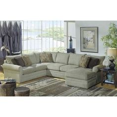 Craftmaster Crysall Fabric Living Room Collection with Chaise
