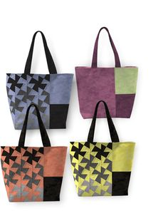 Twister Tote Pattern from Around the Bobbin