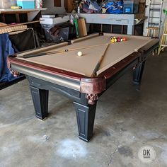 Finished Installing This Foot One Piece Slate Delta Pool Table In - Moving a pool table in one piece