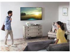 """Smart TV LED 40"""" Samsung 4K Ultra HD 40MU6100 - Conversor Digital Wi-Fi 3 HDMI 2 USB com as melhores condições você encontra no Magazine Valeriamoraes8. Confira!"""