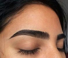 Black brows in perfect length