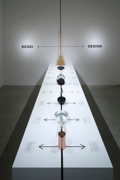 The Boundary between Kogei and Design - Naoto Fukasawa Design Ppt Design, Icon Design, Signage Design, Design Posters, Banner Design, Museum Exhibition Design, Exhibition Display, Exhibition Space, Design Museum