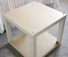 Another IKEA Lack hack side table