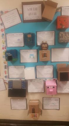 Growing a STEM Classroom: What to do With a Box? Challenge - Connecting Literature and STEM