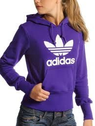 Purple Adidas Sweatshirt