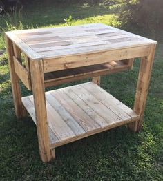 Kitchen Island Out Of Pallets garden wishing well made from pressure treated timber, a nice