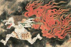 Le Kasha est un être malveillant qui se rend aux cérémonies funèbres pour dérober les corps des défunts avant la crémation. Il est à l'origine (ou le syndrome) de la peur des vivants de voir leurs proches disparaître avant l'heure ou avant les rituels consacrés.