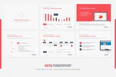 Victa Powerpoint Presentation by SlideDeckStory on Creative Market