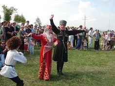 Two elderly Ossetian Dancers. So cute❤