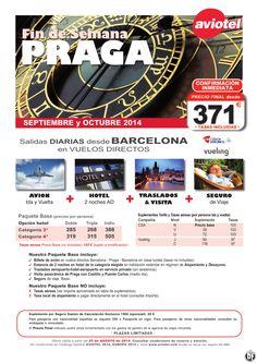 PRAGA escapada Avion+2n Hotel AD+ Traslados + Visita + Seguro salida BCN desde 371 euros ultimo minuto - http://zocotours.com/praga-escapada-avion2n-hotel-ad-traslados-visita-seguro-salida-bcn-desde-371-euros-ultimo-minuto/