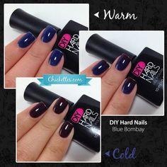 DIY Hard Nails - Blue Bombay