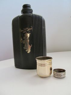 "Retro ""One Scotch After Another"" Scottish Terrier/Scottie Dog Vintage Flask. $21.00, via Etsy."