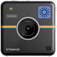 Câmera Fotográfica Digital Instantânea Polaroid Socialmatic Preta Câmera  Polaroid, Compacta, Canecas, Produtividade, a9b9ef8053