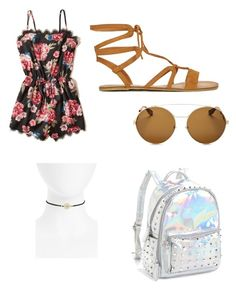 """""""Coachella 1"""" by ella1966666 on Polyvore featuring Hollister Co., Givenchy, Bari Lynn and Topshop"""