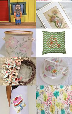 Spring At Home by Sadie Bell on Etsy--Pinned with TreasuryPin.com