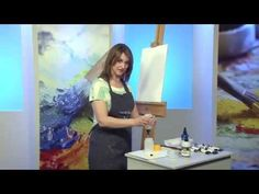 """Paint With Maz-Make Acrylics """"behave"""" like oils USEFUL TIP!  60% Flow Medium Gel  (too thick by itself) , added to  40% Flow Improver ( too runny by itself)."""
