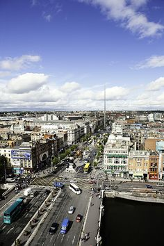 Dublin City by Paul O'Connell.  Not bad for what was once a town held by Norsemen (Vikings).