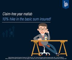 Yes… That's right! For every claim-free year, the Liberty Health Connect Policy provides you a 10% loyalty perk benefit. For more details: https://www.libertyvideocon.com/our-products/health-insurance
