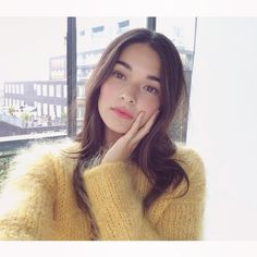 Everything angora and mohair! For all sweater enthusiasts! Half Korean Half White, Sanrio, Half Asian Babies, Asian Makeup Before And After, Pretty People, Beautiful People, Asian Makeup Tutorials, Mixed Asian, Asian Makeup Looks