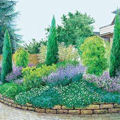 Steinplatten Als Beeteinfassung - Gartenzonen Definieren | Garten ... Einfassungspflanzen Gestaltungsideen