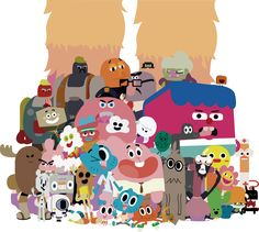 The Amazing World of Gumball - Elmore people by XxmorwullxX.deviantart.com on @DeviantArt