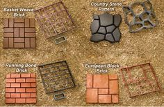 Create your Own #Patio or #walkway #pavers with #Quickrete! Watch the How-To video here: http://www.gnhlumber.com/DIY-Building-a-Quickrete-Walkway.php