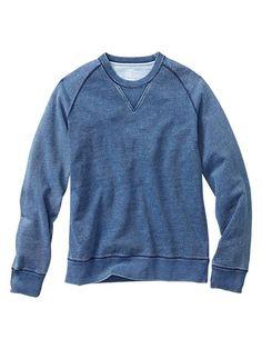 Indigo raglan sweatshirt Product Image