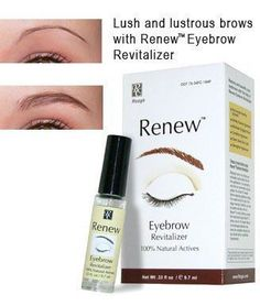 Renew Eyebrow Oil by Rozge .33 oz by Renew. $19.70. Hypoallergenic Non-comedogenic. Professional formula. 100% Natural actives. For men and women. Strengthens hair growth - browns grow back stronger and fuller. Are you a victim of over-tweezed brows? Do you draw your eyebrows with a pencil everyday? Are you brows thinning too much? Then Renew is for you. Now you can grow-in your own eyebrows naturally and quickly. This extraordinary, one of a kind product is made to help s...